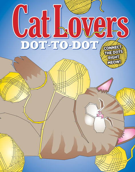 Cat Lovers Dot-to-Dot