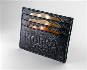 Kobra Gel Wallet showing gels stored in each slot
