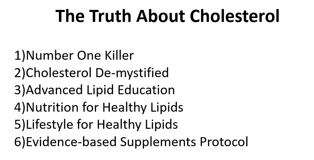 The Truth About Cholesterol PowerPoint Presentation