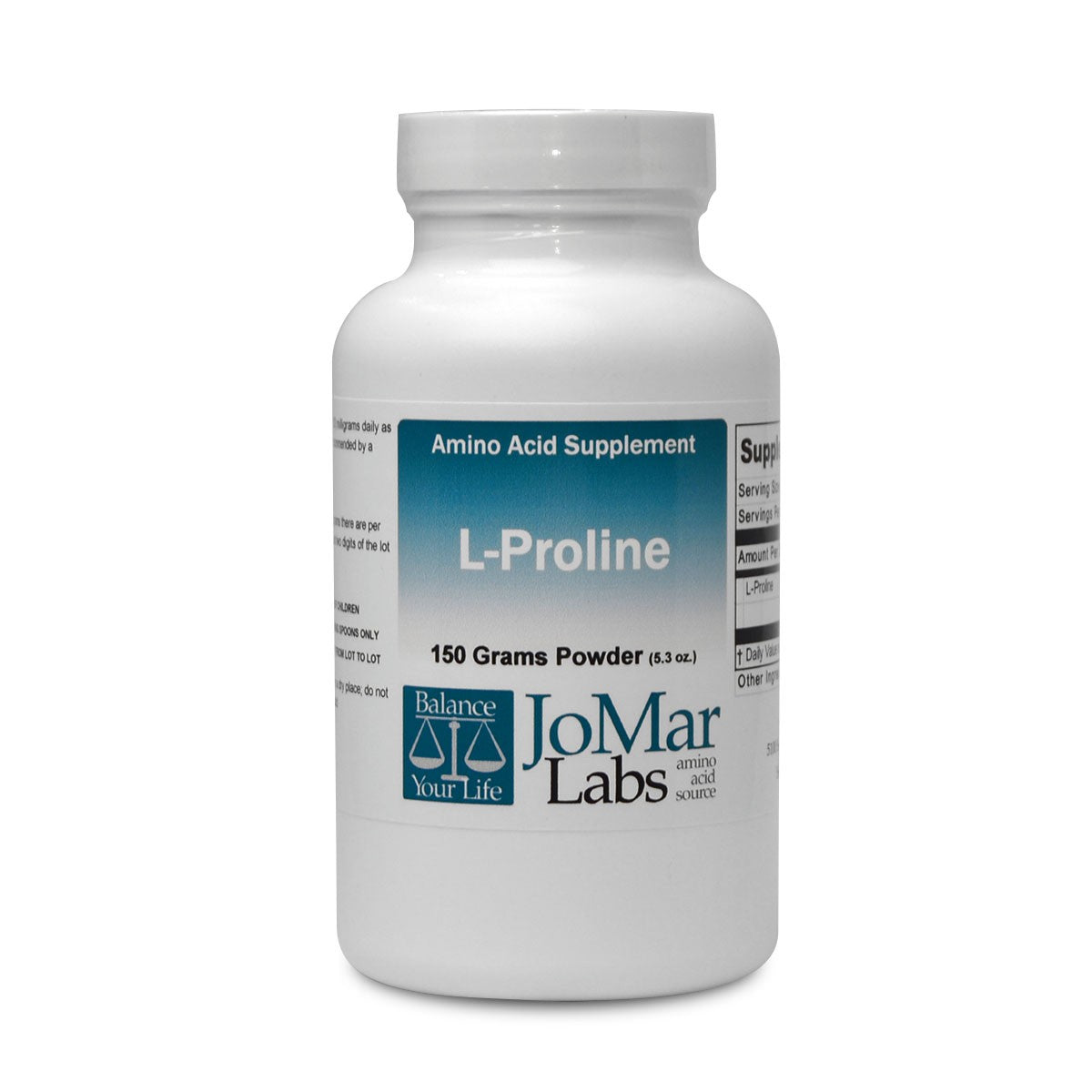 L-Proline 150 grams powder