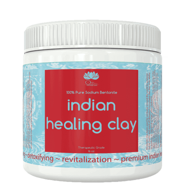 Pure Indian Healing Bentonite Clay