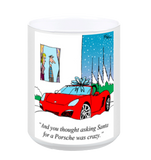 Christmas Morning Porsche Coffee Mug