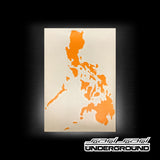 Decals: Philippines 7107 - Vinyl Decal