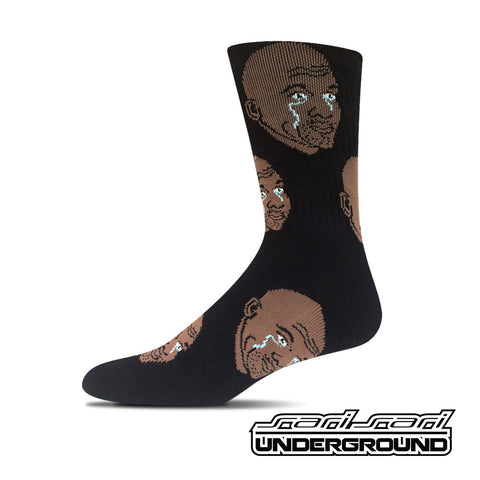 FW: Crying Jordan Socks - Black