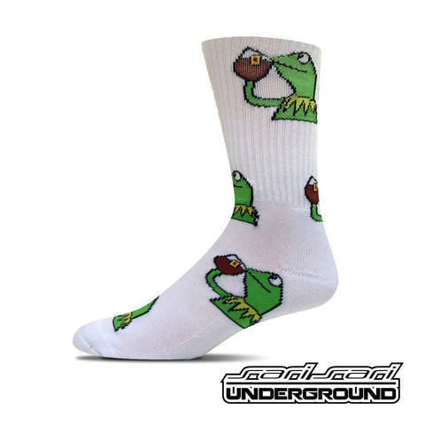 FW: Kermit Socks - White