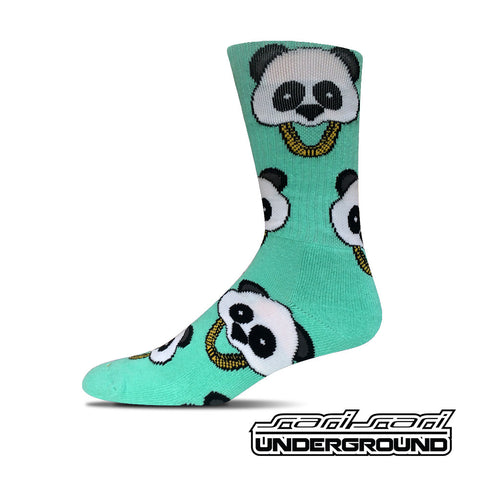 FW: Panda Socks - Mint