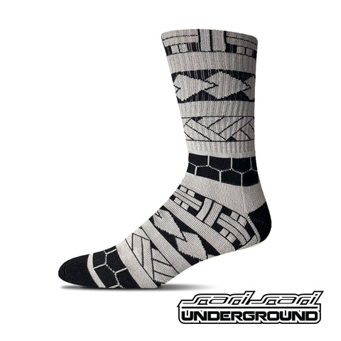 FW: Tribal Sleeve Socks - Grey