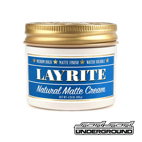 Layrite: Natural Matte Cream 1.5 oz
