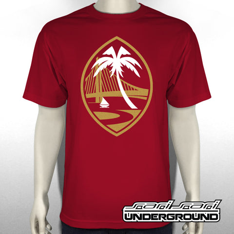 S3S: Guam Warriors Cardinal Red Tee