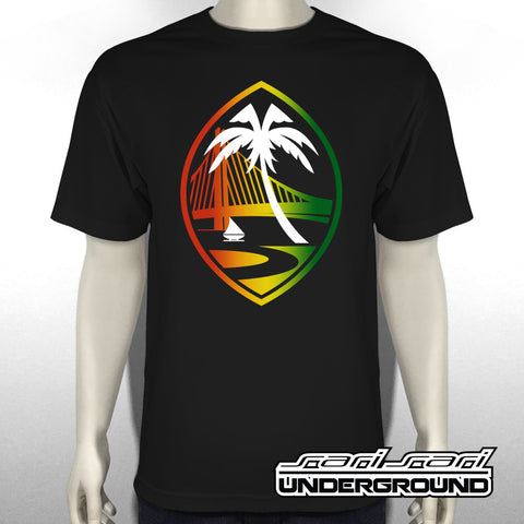 S3S: Guam Warriors Rasta Tee