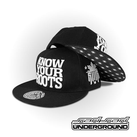 S3S: Know Your Roots Snapback - Black & White