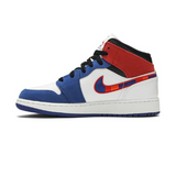 "Air Jordan 1 Mid SE ""L Train (Multi Colored Swoosh)"""