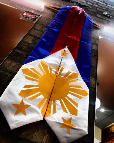 Philippines Flag Graduation Stal