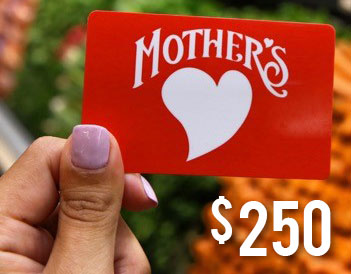 $250 Mother's Gift Card