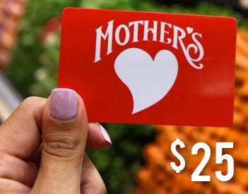 $25 Mother's Gift Card
