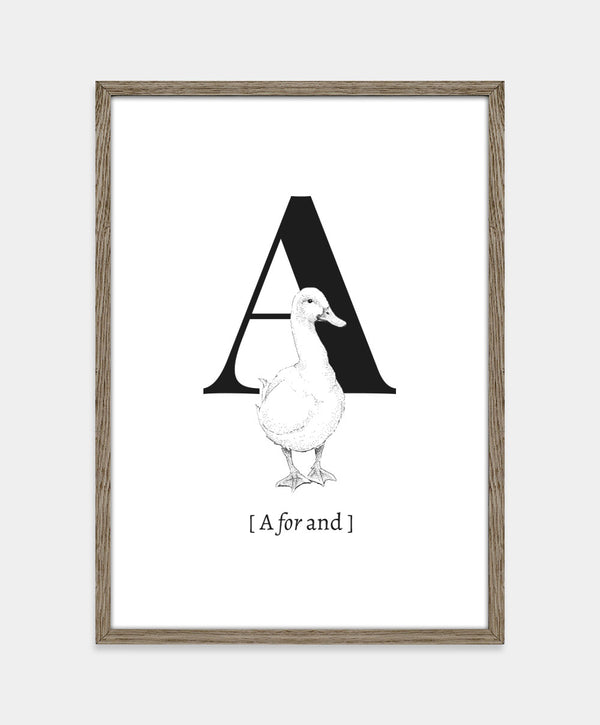 A for and