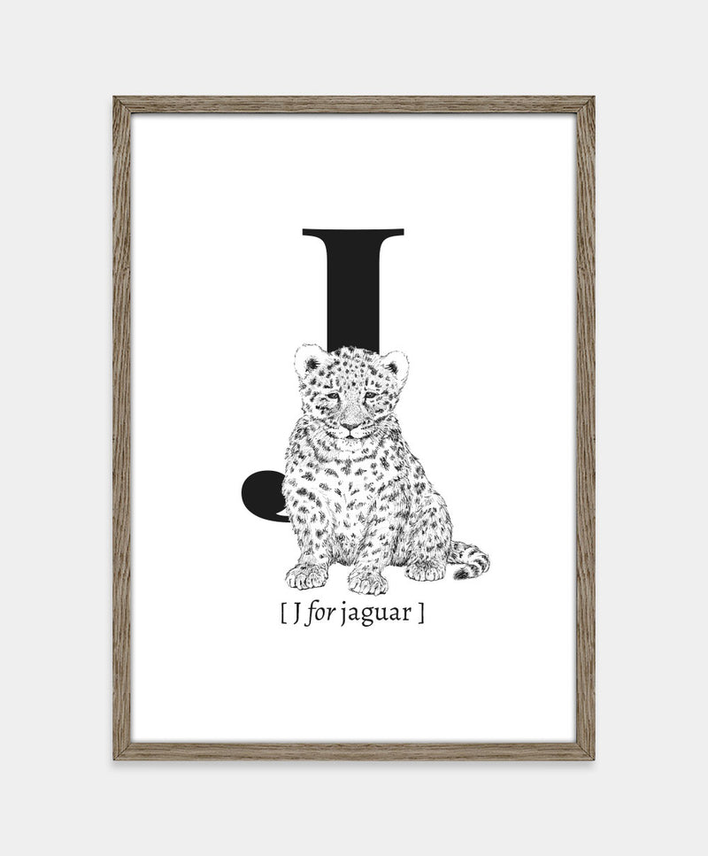 ★ J for jaguar (str. A5)