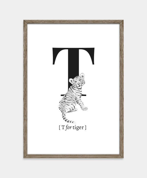 ★ T for tiger