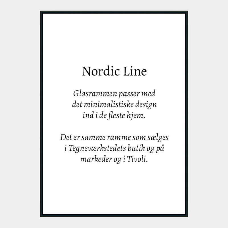 Nordic Line glasramme