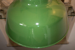 Wardle of Manchester Large Green Pendants
