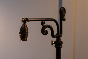Late 19th Century American Rise and Fall Floor Lamp by National