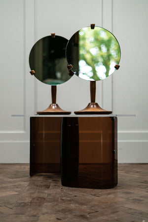 Pair of Vanity Mirrors by Lucian Ercolani for Ercol, 1960s.