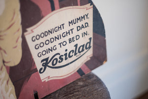 Kosiclad 1940's Advertising Sign