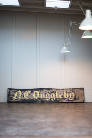 Large Wooden Blacksmiths Sign