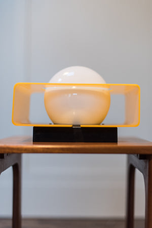 Mid Century Yellow Light
