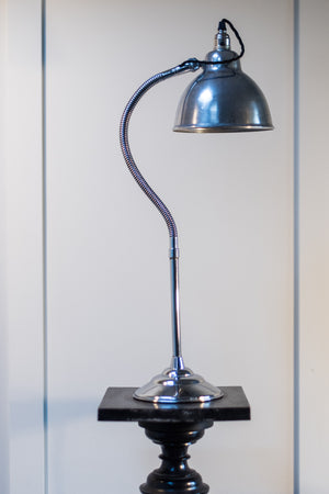 Goose Necked Chrome Lamp 1950's