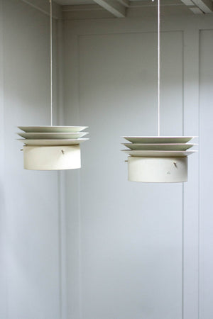 Pair of Ceiling Lights by Hans-Agne Jakobsson, 1960s.