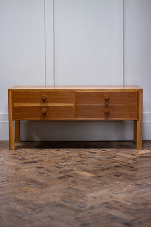 Danish drawers by cabinetmaker Aksel Kjersgaard produced by Odder, 1960s.