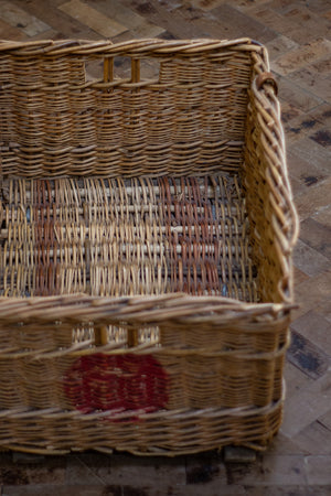 1950's Wicker basket