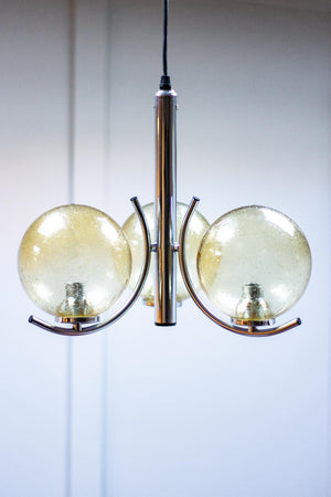 Midcentury Ceiling Light Chandelier by Richard Essig