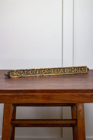 Post Office Telephones Sign