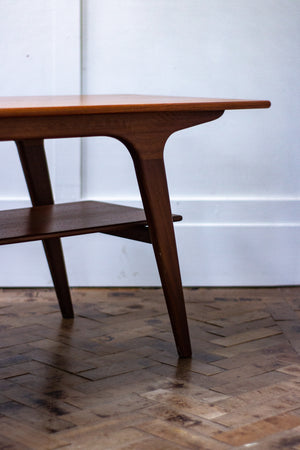 Danish Modern Teak Coffee Table 1960s