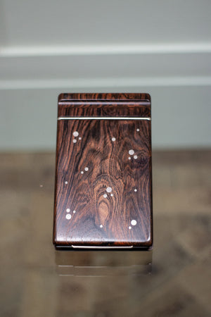 A Danish Rosewood Notebook by silversmith Axel Salomonsen, 1960s.