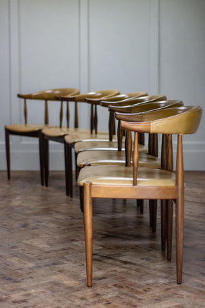 Set of Six Johannes Andersen Chairs