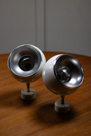 Pair of Hans Agne Jakobsson Eyeball Lights