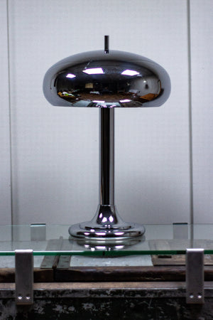 Chrome Table Lamp 1970s