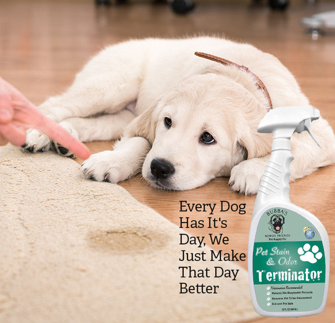Bubbas Rowdy Friends Pet Stain Odor Terminator Bubbas Rowdy - Best dog urine odor remover for hardwood floors