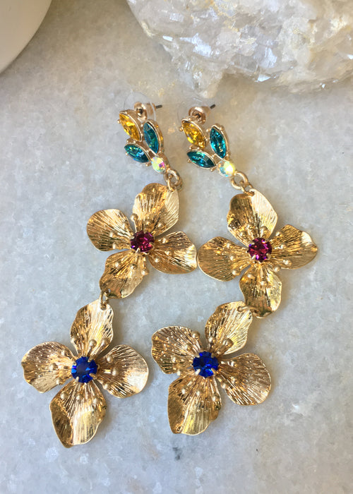 King Bouquet Earrings