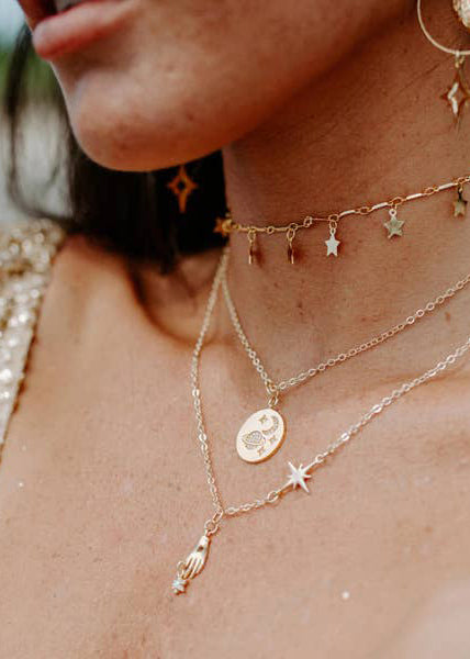 Feel You On My Skin Necklace