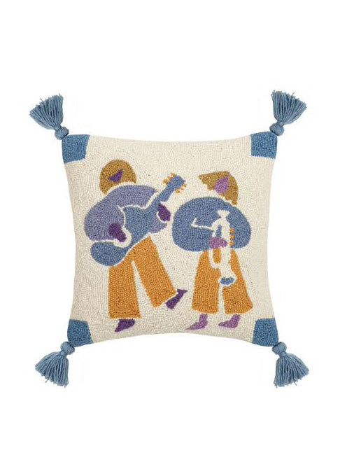 Jams Tassel Hook Pillow