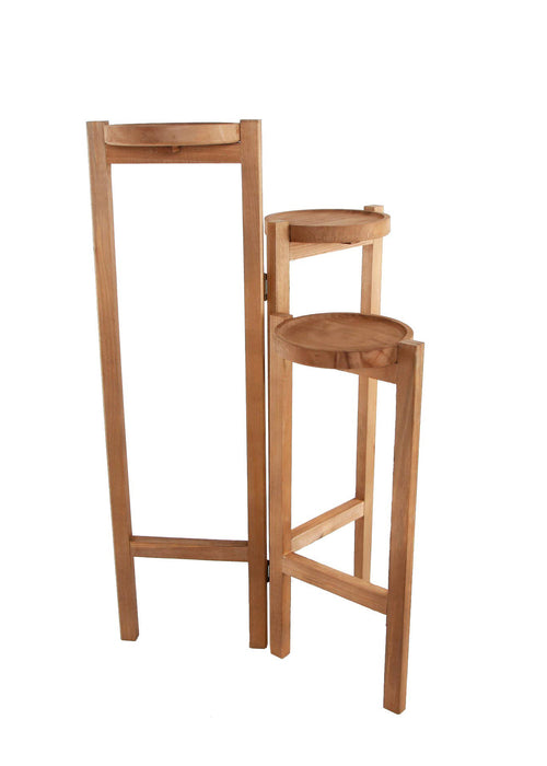 3 Tiered Wood Plant Stand