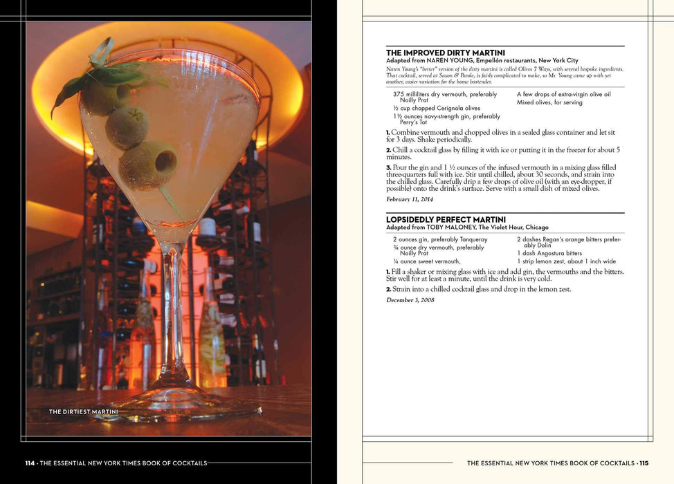 New York Times Book of Cocktails