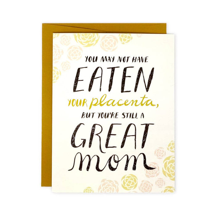 Placenta Mothers Day Card