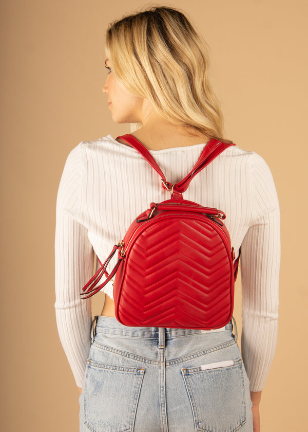 Chevy Double Zip Backpack