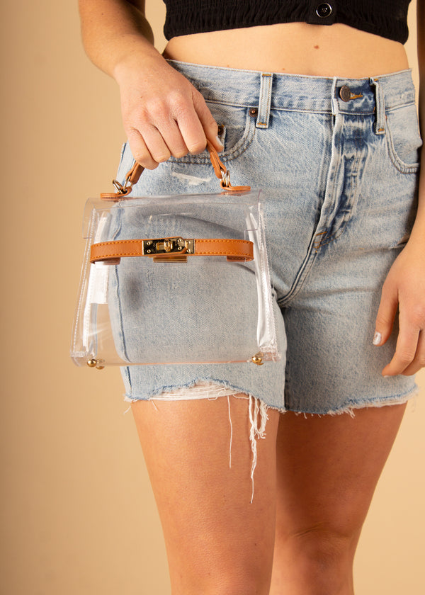 Crystal Clear Concert Purse