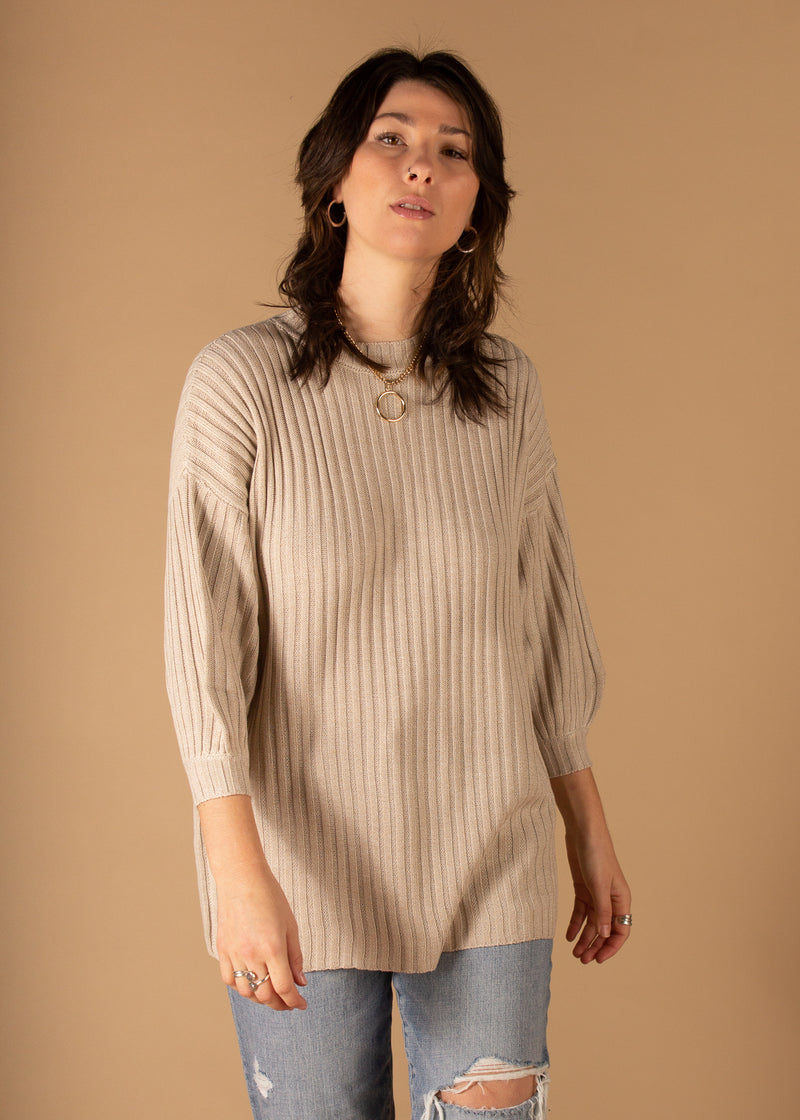 Agatha Knit Sweater Top